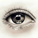 Заплаканные глаза, мокрые листки